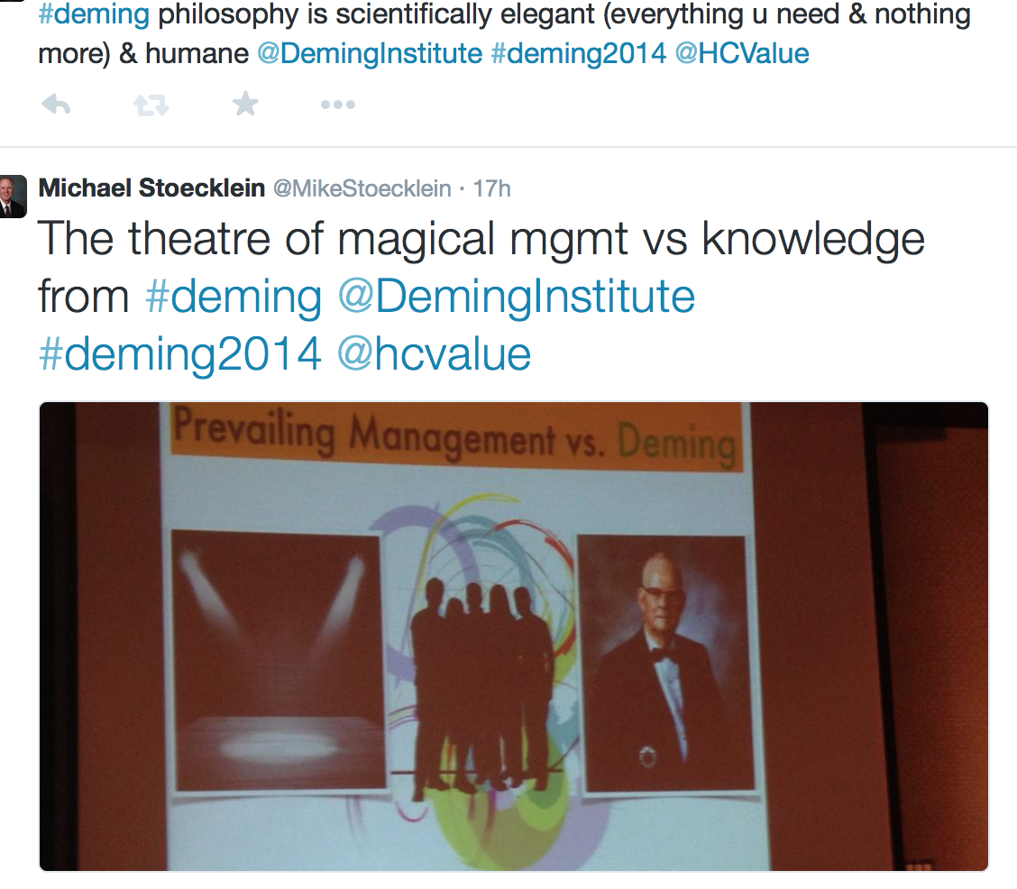 deming philosophy